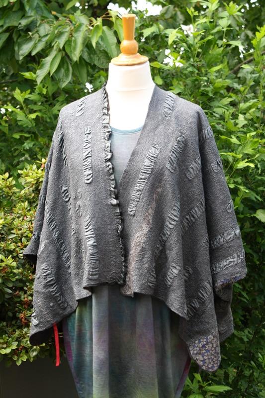 Schicke Filzbekleidung – schlicht, mit Muster oder dreidimensionale Struktur