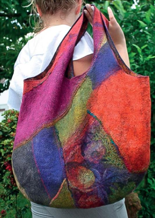 Leichte Taschen in Patch – Nunofilz